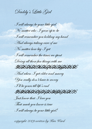 i love you dad poems from daughter. I Love You Dad Poems death,