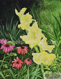 yellow-gladiolas-l
